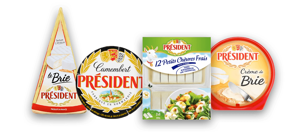 Président product visual